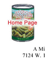 Food Pantry Home Page